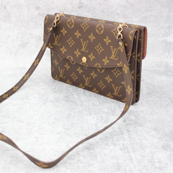 3caff500ec04 Louis Vuitton Handbags - Authentic louis Vuitton Double Pochette Rabat